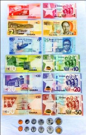 Cedis and Pesewas are the currency of Ghana