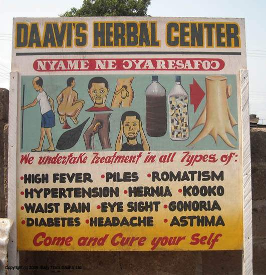 Medical advertising  in Ghana