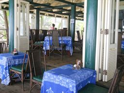 Anomabo Beach restaurant