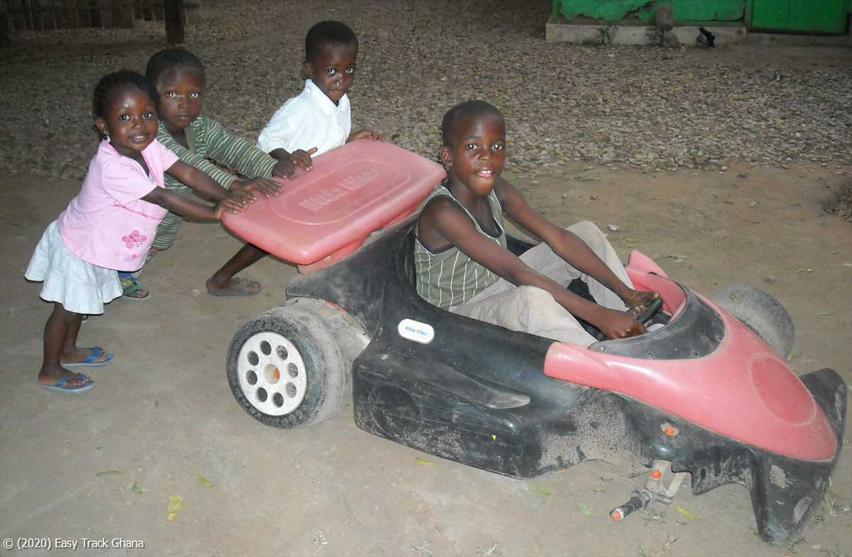 Unsafe driving in Ghana
